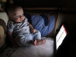 Babies With iPads