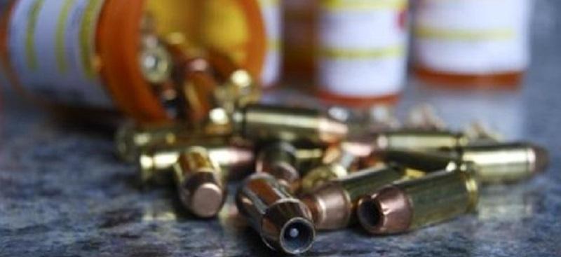 Drugs and Bullets slider